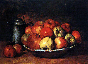 Courbet Still Life National Gallery London - Travel England
