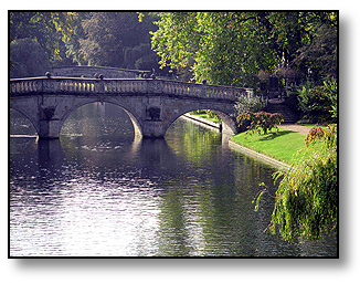 Clare Bridge Cambridge - Travel  England