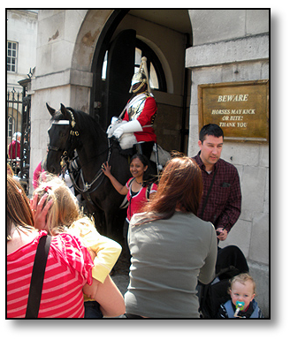 Royal Household Mounted Cavalry London - Travel  England