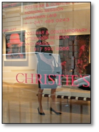 Christie's Gallery London England