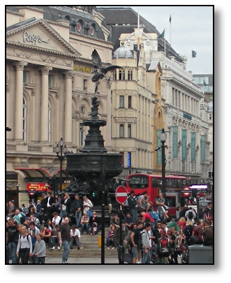 Picadilly Circus London England