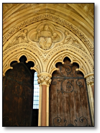 St. John's Chapel Doors Cambridge - Travel England