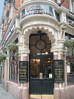St. James Tavern London England