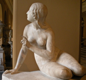 Bailey Sculpture of Eve, Victoria & Albert Museum London - Travel England
